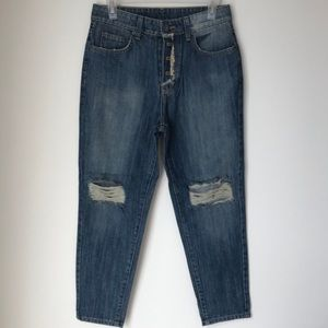 Carmar Distressed Boyfriend Jeans 'Josh' Style-NWT